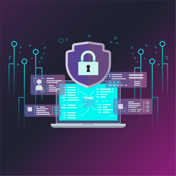 Cyber security - business - Laptop - cyber-attacks protection